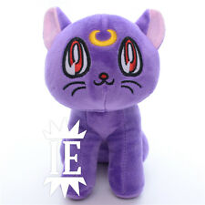 SAILOR MOON LUNA PELUCHE pupazzo bunny cat gatto Usagi plush doll artemis diana