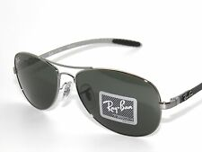 CLEARANCE!RAY BAN 8301 131 GUNMETAL/GREEN CARBON FIBER  TECH SunglaSSeS Rayban