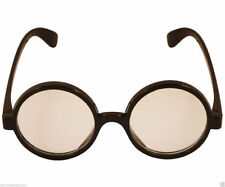 Halloween Wizard Round Glasses Harry Potter Style Fancy Dress Accessory