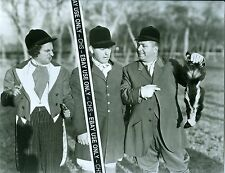 THE THREE STOOGES NICE EARLY B&W 8x10 PHOTO