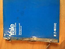 YALE LIFT ERC SERIES FORKLIFT  SERVICE MANUAL TRUCK