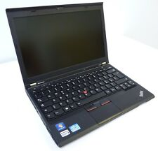 NOTEBOOK  LENOVO THINKPAD X230 INTEL CORE I5-3320M RAM 4GB HDD SSD 128GB WIN 7