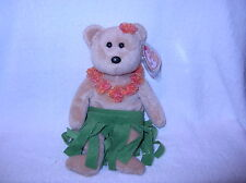 TY Beanie Babies, Alana the Hula Bear (8.5 inch) LAST ONE!!!