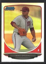 NIKO SPEZIAL WASHINGTON NATIONALS NATS ROOKIE REFRACTOR RC SP 2013 BOWMAN CHROME