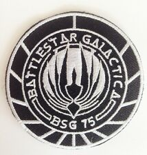 Battlestar Galactica Patch *Embroided Iron / Sew On * Military Sci Fi Tv Series