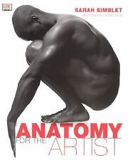 Anatomy for the Artist by Sarah Simblet & John Davis HC DK Books 2001 1st US