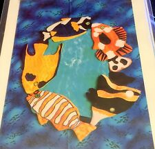 Cracker Country Creations 24 x 18 FISHES ALL AROUND Quilt Pattern Sewing Craft