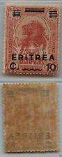 ERITREA - 1922 - 10 c su 1 A Leone Somalia soprastampati (56) - MNH