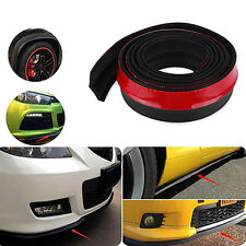 Universal 2.5m Car Lip Protector Front Bumper Spoiler Side TPVC Splitter Optimal