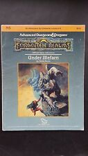 "AD&D ""UNDER ILLEFARN"" FORGOTTEN REALMS #9212 N5 TSR 1987 levels 0-3"