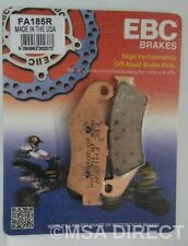"Yamaha WR426 F (2001 to 2002) EBC ""R"" Sintered FRONT Brake Pads (FA185R) 1 Set"