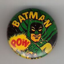 "Vintage Pinback Button Pin Badge 1966 Batman 1"" Batman Collection   Batman ""POW"""