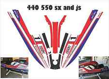 kawasaki 440 550 sx  js jet ski wrap graphics pwc stand up jetski decal kit PSI