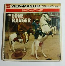 THE LONE RANGER - MYSTERY RUSTLER B 465 Viewmaster GAF Sawyers 1956 TV Series