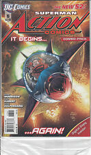 SUPERMAN: ACTION COMICS 5 COMBO...NM-...2012...Grant Morrison...Bargain!