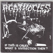 "AGATHOCLES - if this is cruel what's vivisection then EP  7"" grey vinyl"