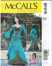 Peacock Gown Corset Dress Cosplay YaYa Han Costume Sewing Pattern 6 8 10 12 14