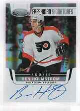 11-12 2011-12 CERTIFIED BEN HOLMSTROM FRESHMAN SIGNATURES AUTO ROOKIE 175 FLYERS