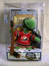 RARE - BRAND-NEW - FRANKLIN - TEAM CANADA - VHS VIDEO AND PLUSH TOY - GREAT GIFT