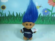 "DALLAS COWBOYS GOOD LUCK SPORTS TROLL - 3"" Russ Troll Doll - NEW STORE STOCK"