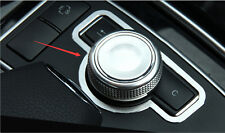 Interior Multimedia Button Cover Trim For Mercedes Benz C Class W204 2010-2013
