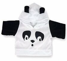 Teddy Bear Clothes fits Build a Bear Teddies Panda Hooded Sweater Top Clothing