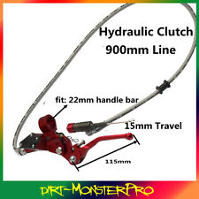 HYDRAULIC CLUTCH  MASTER CYLINDER LEVER KIT 900MM PIT Dirt Trail Bike Motorcycle