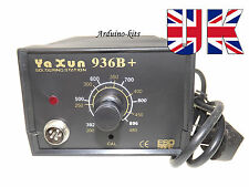 Soldering Station Best Quality YAXUN 936B + With UK 3pin Fused Plug.