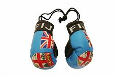 FIJI COUNTRY FLAG MINI BOXING GLOVES .. NEW