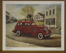 Left Behind Fred Thrasher Ky Artist Antique car  Bank of Creelsboro Sold Out