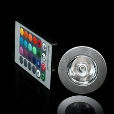 16 Colors Change RGB LED Wireless Bulb Spot light India Plug Lamp with IR Remote