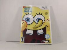 SPONGEBOB'S TRUTH OR SQUARE --- WII w/ Original Box
