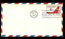Canal Zone 1964, 8c Air Mail FDC Cover #C10255A