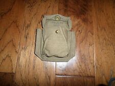 WWII BRITISH MILITARY PATTERN 37 P-37 PISTOL AMMO POUCH DATED 1942