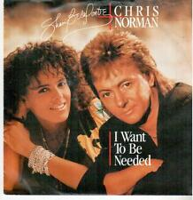 """< 3056-11 > 7"""" single: Shari Belafonte & Chris Normann-I want to be needed"""