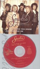 MAXI CD--SMOKIE--If You Think You Know How To Love Me