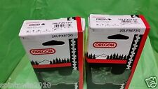 """2 LOOPS NEW Oregon 20LPX072G Chainsaw Chain 18"""" .325 .050 72 Drive Link"""