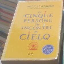 LE CINQUE PERSONE CHE INCONTRI IN CIELO NARRATIVA 2006 MITCH ALBOM RIZZOLI