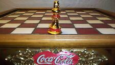 Franklin Mint COCA COLA CHESS PIECE replacement RED Bishop original 24K Gold