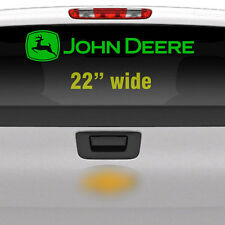 "John Deere 22"" Green Rear Window, Implement Cart Gator Logo / Decal / Sticker"