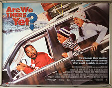 Cinema Poster: ARE WE THERE YET? 2005 (Quad) Ice Cube Nia Long Aleisha Allen