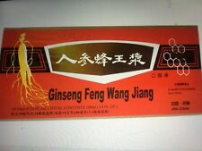 6 Boxes Ginseng Royal Jelly Extract Oral Liquid Improving Stamina &memory60Vials