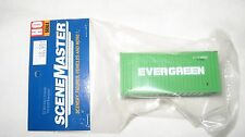 Walthers HO 20' Rib Side Container Evergreen #949-8002 New in Package