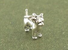 Chihuahua Dog Charm Sterling Silver Pendant 3d MINI Animal Traditional Style