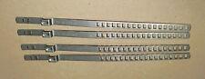 4 Stück Schelle für Achsmanschette 25 - 50 mm, Edelstahl, System Oetiker