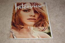 EMMA STONE * LILY TOMLIN May 2015 INTERVIEW MAGAZINE * WILLIE NELSON