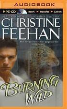 Leopard: Burning Wild 3 by Christine Feehan (2015, MP3 CD, Unabridged)