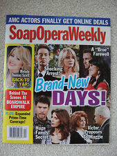 Soap Opera Weekly Magazine October 4, 2011 All My Children Days of Our Lives