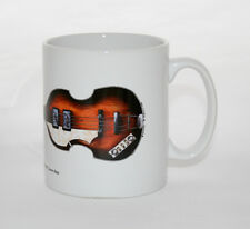 Guitar Mug. Paul McCartney's 1961 Hofner 500/1 Cavern Bass Illustration.