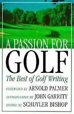 A Passion for Golf (1998, Hardcover)